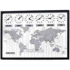 Wall clock - StudioSeiko Analogue Large Wall Clock QXA538K
