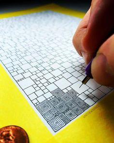 Zentangle……Doodling Abstract Art by Matthew Schultz Doodles Zentangles, Zentangle Drawings, Zentangle Pens, Doodle Art Drawing, Mandala Drawing, Doodle Doodle, Mandala Painting, Drawing Ideas, Doodle Patterns
