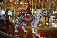 Oaks Amusement Park Carousel