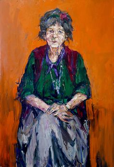 Painting Margaret Olley - Nicholas Harding