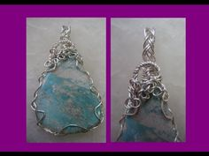 Easy Wire Wrap Pendant - Loose braid using 24 gauge wire would work for any shape stone. I might like a little less busy top and bail but cool idea.