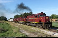 RailPictures.Net Photo: AM 68 Arkansas & Missouri Railroad Alco C420 at Purdy, Arkansas by Nikos Kavoori