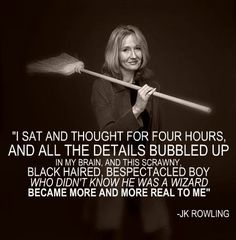 J.K. Rowling on Harry Potter