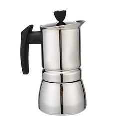 Generic 200 ML, 4 Cup Stainless Steel Moka Stovetop Espresso Coffee Maker Latte Percolator Stove Top Coffee Stovetop Espresso Maker Pot For Use On Gas Electric And Ceramic Cooktops -- Learn more @ http://www.amazon.com/gp/product/B01F6JIGZK/?tag=lizloveshoes-20&pmn=250716234727