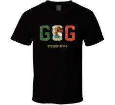 0d37e511 Gennady Golovkin GGG Boxing Mexican Style Cool Pro Boxer Fan T Shirt