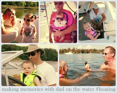 Ways Your Kids Can Share Special Moments On The Boat With Dad  #make #create #family #boating #memories #dad #father #child #children #kids #fun #ideas #boat #boats #salvageboats #auction