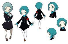 Fuuka Yamagishi from Persona Q: Shadow of the Labyrinth
