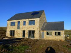 This is a low energy building designed by Mark Siddall Director of LEAP: Low Energy Architectural Practice. Looking good!