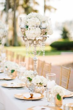 Gold elegance: http://www.stylemepretty.com/little-black-book-blog/2015/05/20/elegant-summer-wedding-at-cypress-grove-estate-house/ | Photography: Best Photo - http://joshandrachelbest.com/