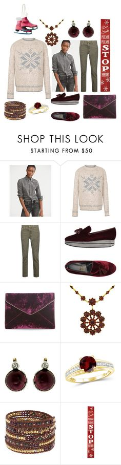 """Christmas sweaters"" by moestesoh ❤ liked on Polyvore featuring Polo Ralph Lauren, Fat Face, Current/Elliott, D'Acquasparta, Rebecca Minkoff, Jewelonfire, Chan Luu and North Pole Trading Co."