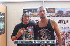 Rencontre avec Shawter du groupe DAGOBA lors du Hellfest 2014