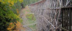 Kinsol Trestle, Cowichan River Trail - Discover Vancouver Island River Trail, Vancouver Island, Hiking, Walks, Trekking, Climbing, Walking