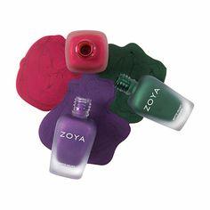 Zoya MatteVelvet Jewels LE Gift Set Trio available now!