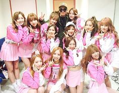K.Will Shows Cosmic Girls Some Love!