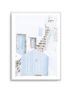 My Wishlist - Olive et Oriel Wall Decor Online, Online Posters, Modern Frames, Australian Art, Santorini, Framed Artwork, Art Prints, This Or That Questions, Blue