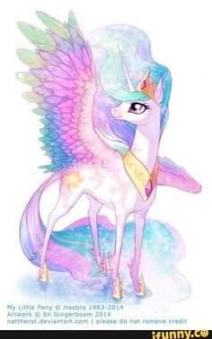 My uma Pony © Hasbro - iFunny :) Princesa Celestia, Celestia And Luna, My Little Pony Comic, My Little Pony Pictures, My Little Pony Princess, Flame Princess, Futaba Y Kou, Unicornios Wallpaper, My Little Pony Wallpaper