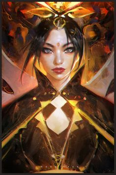"""I made an episode painting FireLord Azula. Hope you enjoy it!"" ~ rossdraws.paigeeworld.com  https://youtu.be/v2HmA28gSFA #youtube #azula #rossdraws #portrait #avatar #fanart This Azula drawing from Ross is amzing, she has always been a favorite character! ~ Joe"