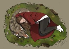 The True Story of the Red Riding Hood :)