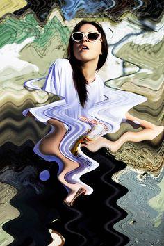 Waved reflection