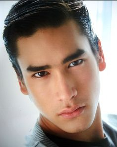 Nadech Kugimiya.  model and actor of Thai and Austrian descent.