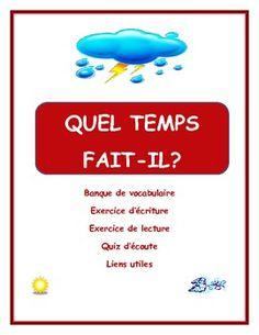 Ressource pour enseigner le temps et la météo