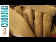 This recipe and video shows how to make tamales with several different fillings, even vegan tamales