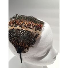 Feather Headdress Feathered Headband Feather Fascinator Boho Headband... ($20) ❤ liked on Polyvore featuring accessories, hair accessories, grey, headbands & turbans, fascinator hat, sequin headbands, headband fascinator, feather fascinator and fascinator headband