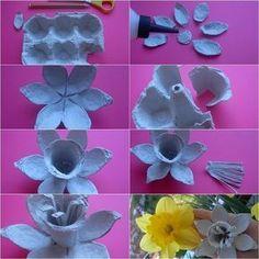 24 Ideas De Reciclando Cartón Ando Cartones De Huevos Manualidades Con Cartón De Huevos Manualidades