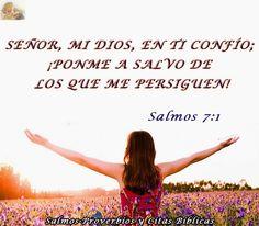 Salmos Proverbios y Citas Bíblicas: Salmos 7:1