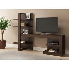 Ideaz International Artesano TV Stand for TVs up to 42 Furniture, Room Design, Home, Tv Unit Furniture, Modern Media Console, Tv Room Design, Living Room Tv Unit Designs, Furniture Design, Living Room Tv