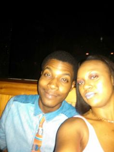 lol me and Rodney... clowning..