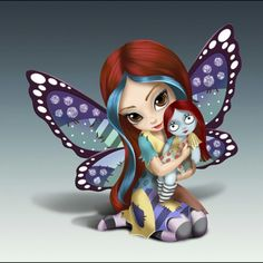 Jasmine becket-griffith nightmare before Christmas