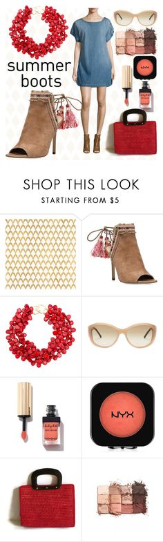 """Sammantha"" by alejandra-soraires ❤ liked on Polyvore featuring Barclay Butera, Sam Edelman, Kenneth Jay Lane, Burberry, NYX, tarte and Current/Elliott"