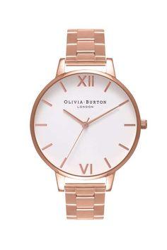 **Olivia Burton Rose Gold Bracelet Watch