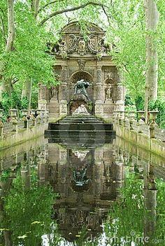 Medici Fountain, Luxembourg Garden, Paris