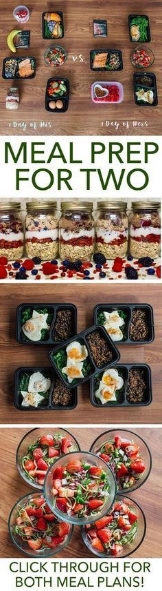 Meal prep is more fun when you have a partner in the kitchen. Make this week extra special with this meal prep plan for two. // meal prep mondays // meal planning // healthy foods // couples // relationships // valentine