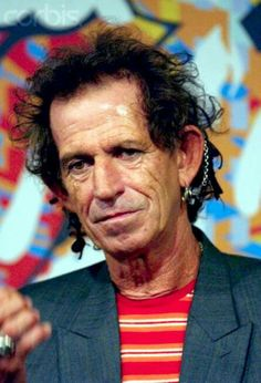 Keith Richards I love Keith Richards because he's not a phony. Says the way it is. Rck on Keith