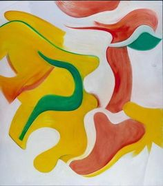 Untitled XIII, 1985. Oil on canvas, 203x177cm. Cleveland Museum of Art.