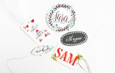 Five Fresh Gift Tag Ideas