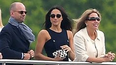 Prince Harry was joined by his American girlfriend Meghan Markle at a charity polo match today, a significant step in the couple's relationship and the first time they have attended a public event together as a couple. Markle stood on the sidelines cheering on the fifth in line to the throne while...