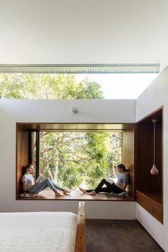 Super Home Office Design Interior Room Ideas 32 Ideas Modern Window Seat, Modern Windows, Window Seats, Window Sill, Home Office Design, Home Interior Design, Interior Architecture, Modern House Design, Contemporary Architecture