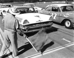 1956 marked the first NASCAR race