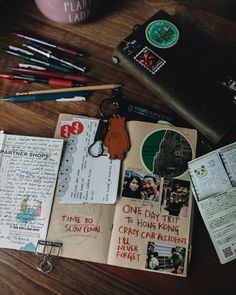 Slow Down, My Journal, Travelers Notebook, Shit Happens, How To Plan, Day, Instagram