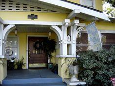 Riverside, CA Craftsman Home. Nice porch detail.