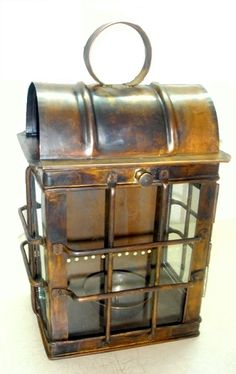 Turkish Copper Lantern