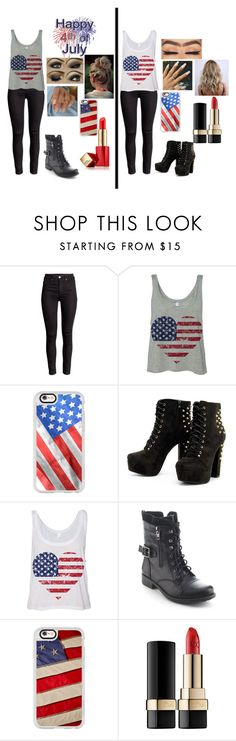 """""""Fourth of July"""" by blue-black ❤ liked on Polyvore featuring Casetify, Refresh, Dolce&Gabbana and Estée Lauder"""
