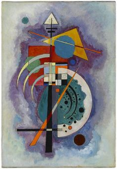 Wassily Kandinsky, Komposition No. 350 (Hommage à Grohmann), 1926, Staatsgalerie Stuttgart. Exhibition The poetry of Colour, 23.10.15 - 14.2.16