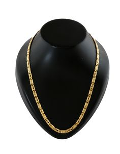 Buy Gold Finish Mens Russel Chain For Wedding Wear Online Designer Jewellery, Gold Jewellery Design, Mens Gold Jewelry, Jewelry Art, Mens Neck Chains, Rakhi Gifts For Sister, Terracotta Earrings, Gold Chain Design, Silver Toe Rings