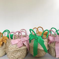 Easter baskets for the babes