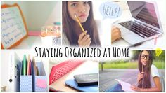 Want to stay organised? Don't know how? Just watch this awesome 10 minutes video on tips and tricks that are very beneficial!!!